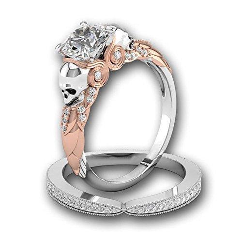 paweena Fashion 925 zafiro blanco de plata gema