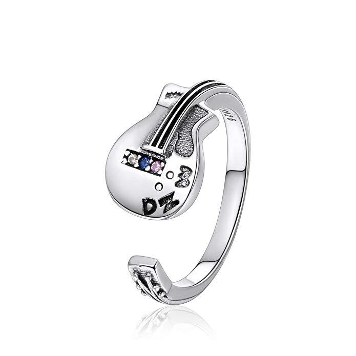 ChicSilver 925 anillo de plata esterlina