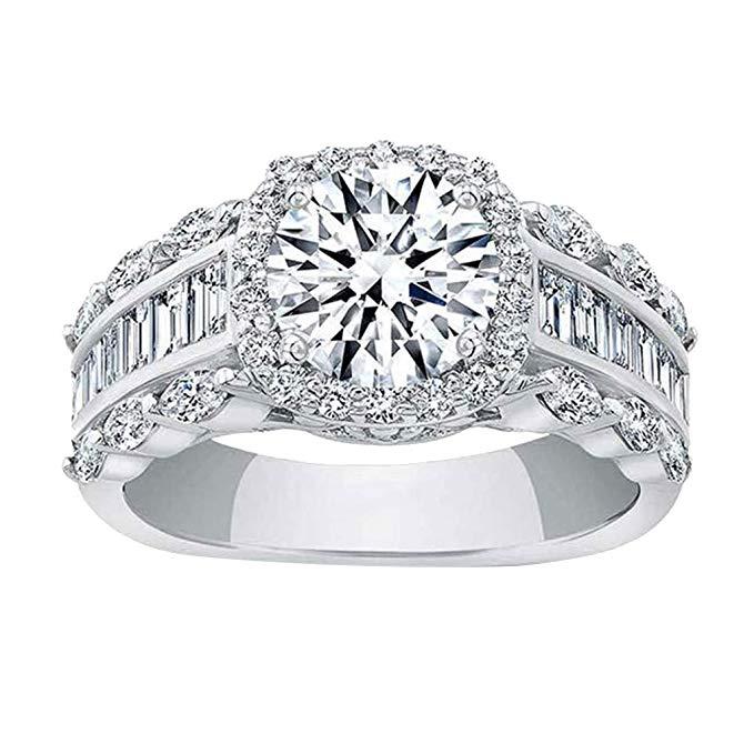 anillo de plata de ley 925, anillo de boda