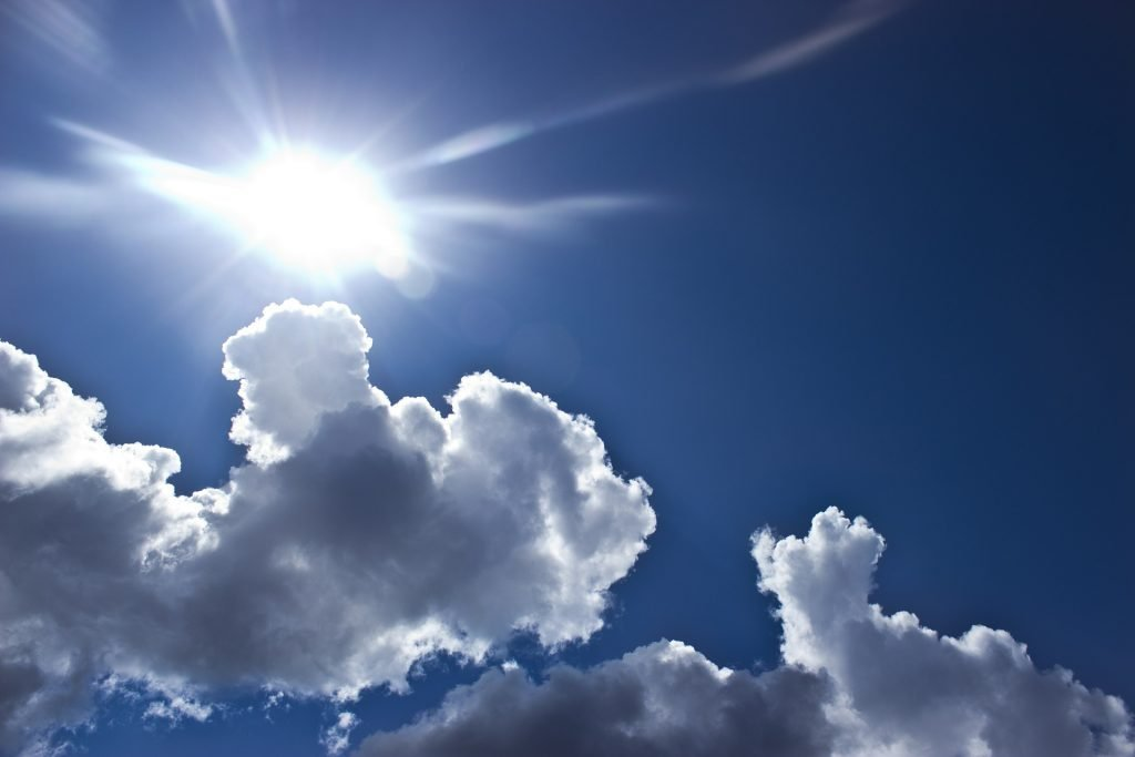 luz del sol