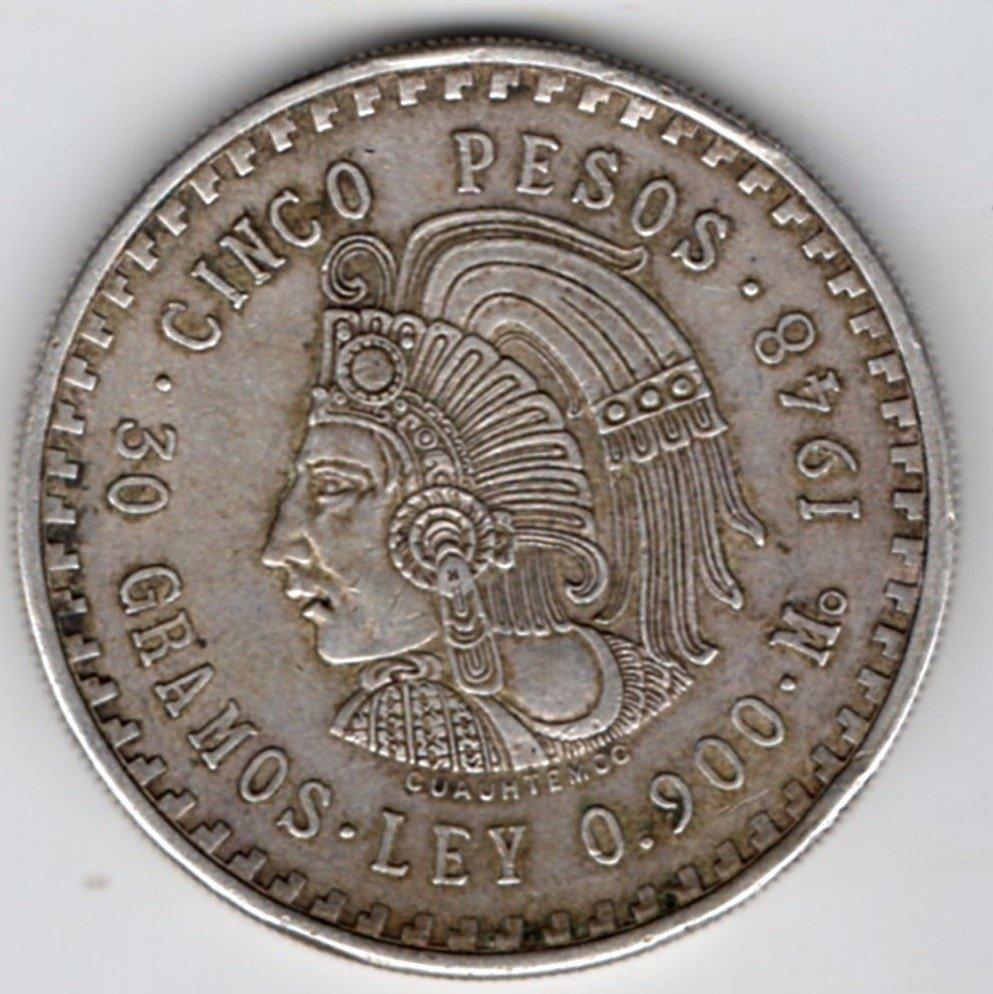 moneda de plata de ley 900